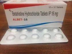 betahistine hydrochloride 16mg tablets