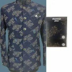 Printed Mens Wedding Wear Jodhpuri Suit, Size: Medium