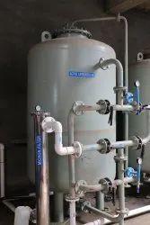 Vertical Air Receiver, Base on Inler Water Flow, Storage Capacity: Based on Design