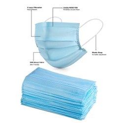 Disposable Surgical Mask, Number of Layers: 3