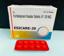 Escitalopram Oxalate Tablets I.P. 20 MG.