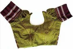 Ladies Light Green Designer  Blouse