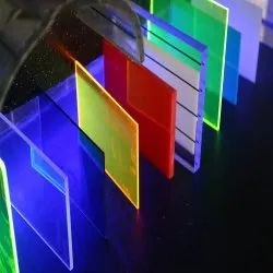 Coloured Fluorescent Acrylic Sheets