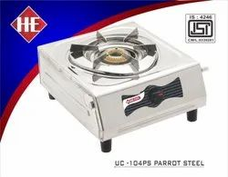 UC-104PS Parrot Steel SS One Burner Stove