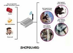 ShopGuard GSM Shutter Security Device
