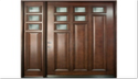 Cp Teak Solid Wood Door, For Home