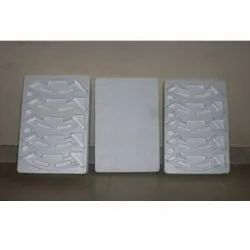 White Thermocol Molded Box