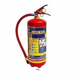 Safe Pro Fire Extinguisher Abc 4 Kg