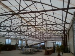White FRP Industrial Shed Fabrication, For Industries
