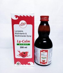 Lycopene, Vitamin A, Vitamin C with Minerals Syrup