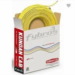 1 sqmm Kundan Fybros Wire, 90m