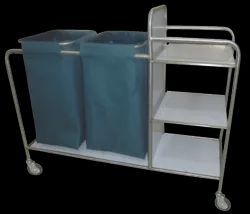 LINEN CHANGING TROLLEY SS - 50-6100 DDS