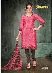Amit Simaran Series 1001-1012 Printed Heavy French Crepe Suit
