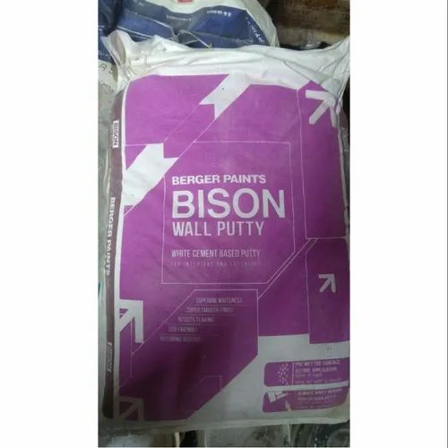 Bison Wall Putty For Construction Packing Size 40 Kg Rs 730 Bag Id 14993550112