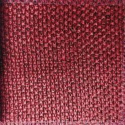 Red Woven Jute Sofa Fabric, 350 Gsm