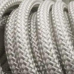 SPUNK White Nylon Double Braided Rope