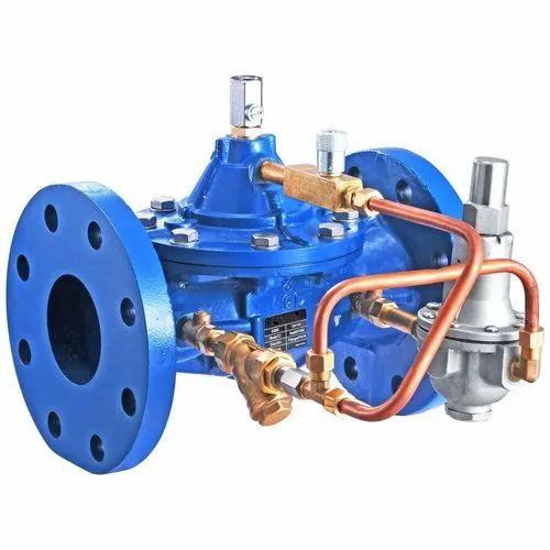Pressure Reducing Control Valve, Ductile Iron, F/E. PN.16