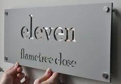 Metal Name Board