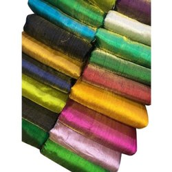 Metallic Tissue Silk Fabric