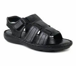 Casual Wear Men Leather Sandal, Size: 6-10