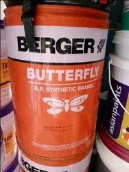 Berger Butterfly Gp Synthetic Enamel Smoke Grey 20 L