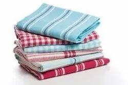 Check Cotton Kitchen Towels, Wash Type: Machine Wash, Size: 40 X 60 Cm