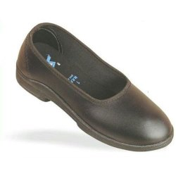 Navigonfootware Leather Black Formal School Shoes