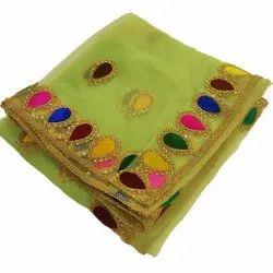 Handmade Designer Fancy Embroidered Dupatta