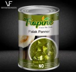 Ready To Eat Palak Paneer, 450 G, Packaging Type: Can