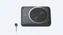 """Black Sony Xs-aw8 8"""" Active Underseat Subwoofer Peak Power:160w Rms: 75w, Size/dimension: 8 Inches"""