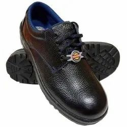 Liberty Warrior Single Density PU Leather Safety / Industrial Shoes