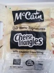 Deep Fry Mccain Cheese Triangles, Packaging Type: Packet