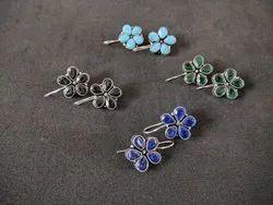 Flower Shape Stud Earrings
