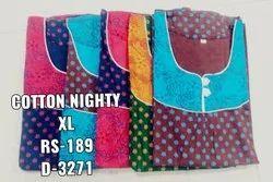 Ladies Cotton Nighty