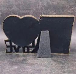 Wooden Paris Theme Photo Frame, For Decoration, Size: 7 X 11 X 1 Inch