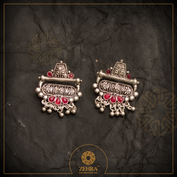 Zehra Brass Ladies Fashion Earrings