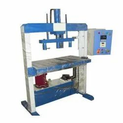 Double Die Semi Automatic Paper Plate Making Machine