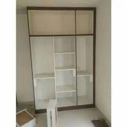 Open Wooden Wardrobe