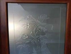 5 mm Designer Glass, For Home