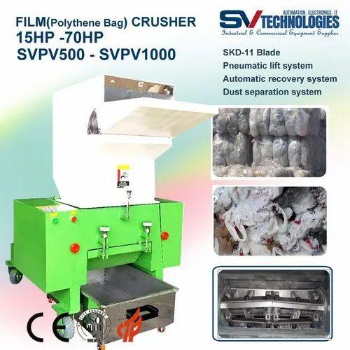 Polythene Crusher - Polythene Bag Films Crusher 20 HP