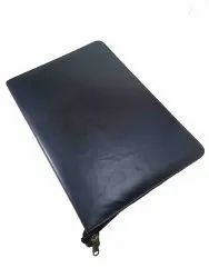 Black Conference Leather Folder, Packaging Type: Poly Bag, Size: 34 X 25