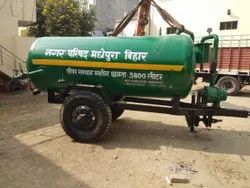 Tractor Operated Septic Tanker