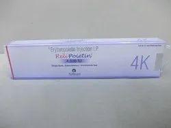 Erythropoietin 4K IU Injection IP