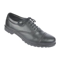 Formal Black Leather Shoes, PVC With A Blend Of 10% Rubber