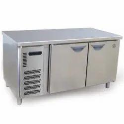 Spl SS 2 Door Table Top Freezer