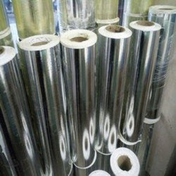 100 GSM Silver Paper Roll, For Embroidery Work, Size: 20 Inch (roll)