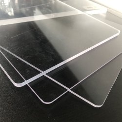 Rectangular Acrylic Transparent Sheet