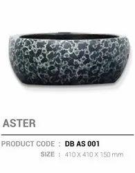 Radon Ceramic Designer Wash Basin, Model Name/number: Aster, Db As 001