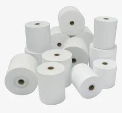 KRISHNA Plain Thermal Paper Rolls 57 mm x 25, GSM: Less than 80 GSM