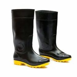 Hillson Century Black and Yellow Safety / Industrial Gumboot